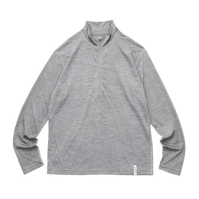 Merino Half Zip Stand Collar