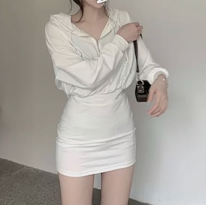 foody casual dress 2color
