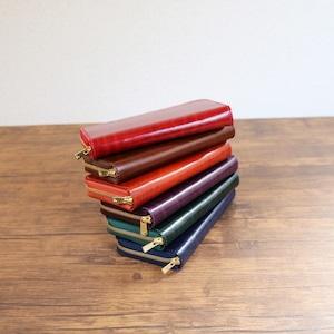 コピー:使いやすい長財布 【革の宝石ルガトー Pat.Zip】 国産レザー 革 日本製 メンズ レディース