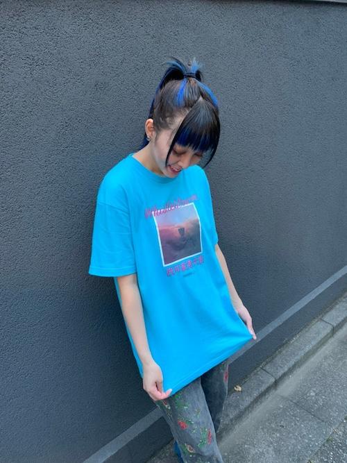 降臨Tシャツ(シーブルー)