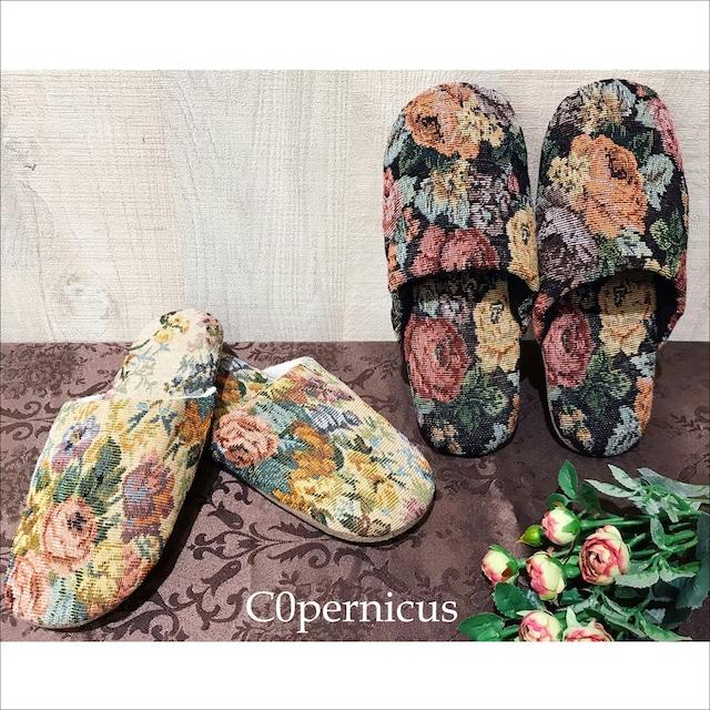 ゴブラン織/スリッパ/RoomShoes 浜松雑貨屋C0pernicus