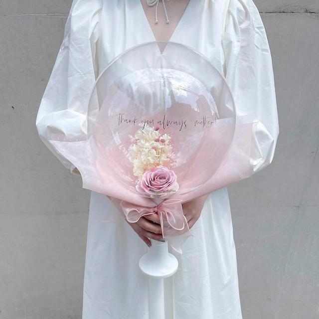 BALLOON FLOWER BOUQUET - dear mom -