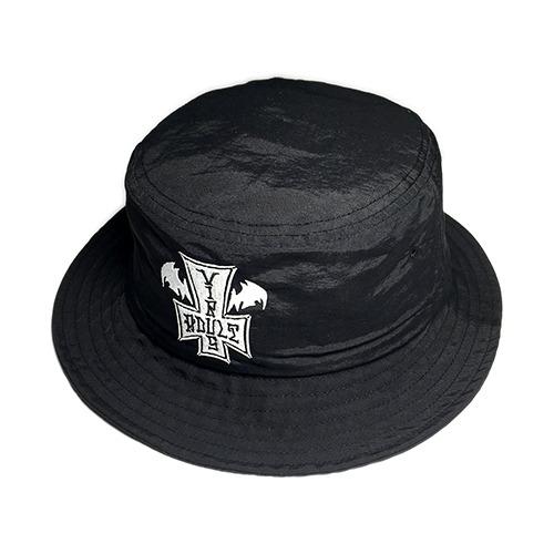 AV「 Adult Town 」Nylon Bucket Hat BK