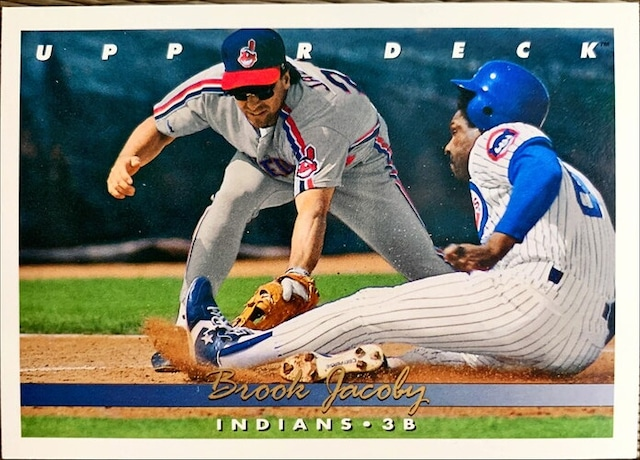 MLBカード 93UPPERDECK Brook Jacoby #200 INDIANS