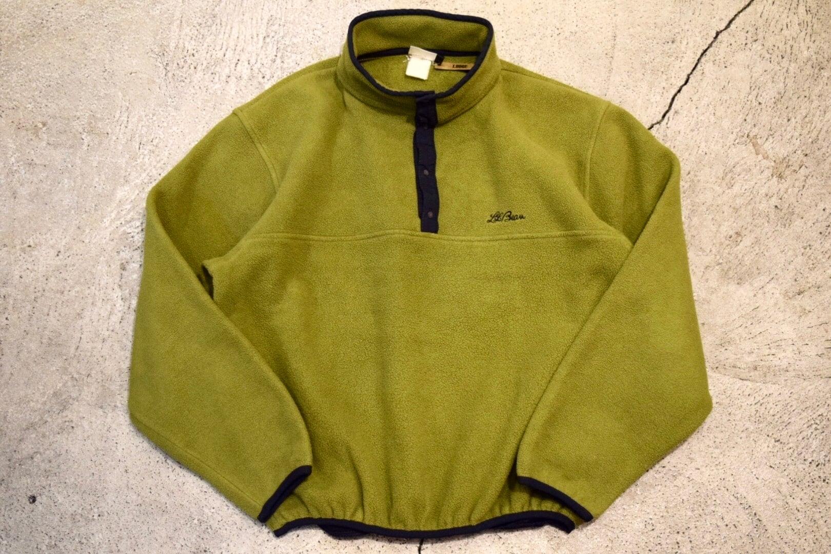 USED 90s L.L.Bean Polarlite Pullover F0611