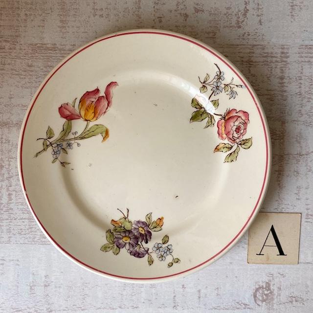 Longchanp 花柄ままごとディナープレート /aa0119