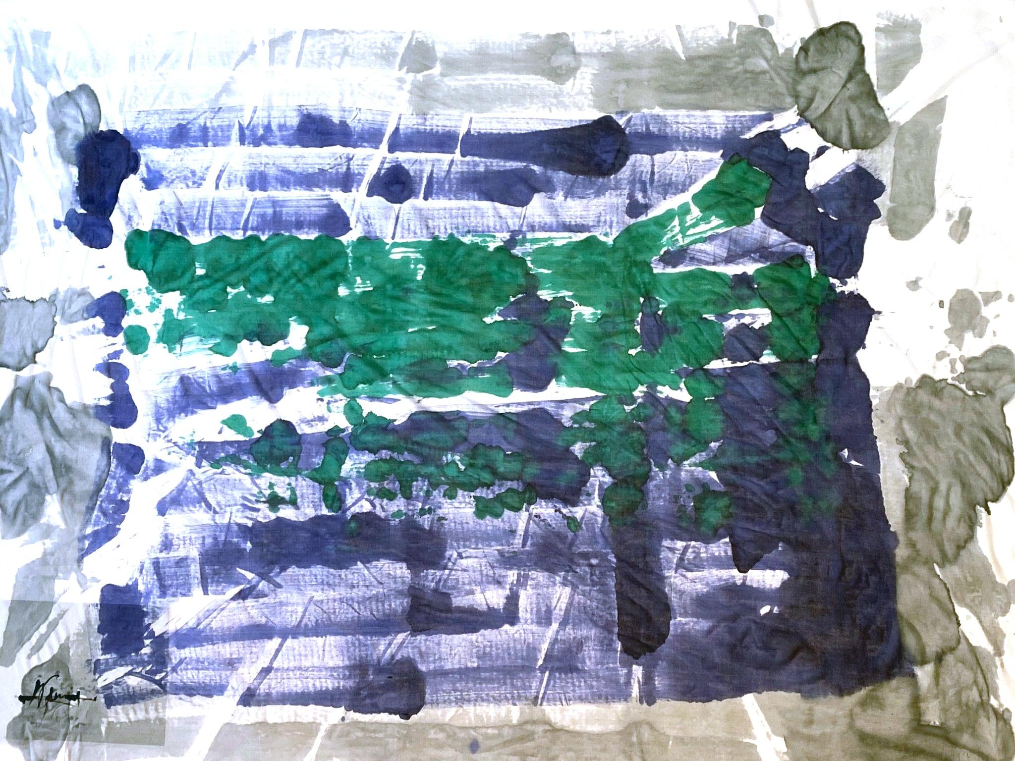 [売約済][着るアートストール]PLAIN CORNICE STOLE【SILKシルク】1117SILK-HP59 [登録意匠][送料/税込]
