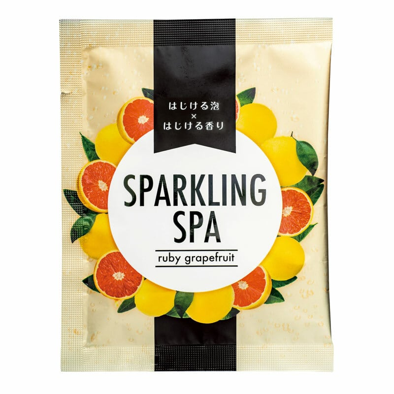 SPARKLING SPA ルビ―グレープフルーツ 40gx10包:10回分 6813010