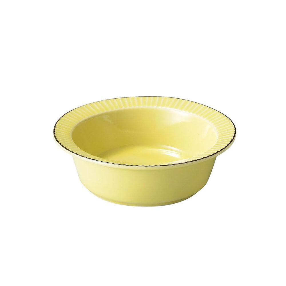 aito製作所 「ティント Tint」スープ サラダボウル 皿 M 約14cm イエロー 美濃焼 289018