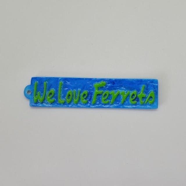 We Love Ferrets タグ キャスト製 ①