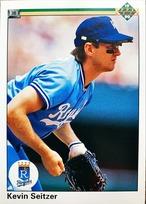 MLBカード 90UPPERDECK Kevin Seitzer #363 ROYALS