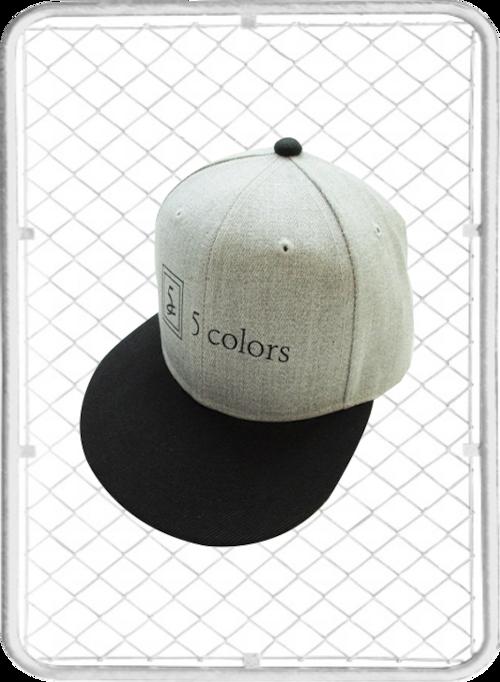 5colors Base-ball Cap / ファイブカラーズ ベースボールキャップ