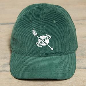 Bar Logo Corduroy Cap Green