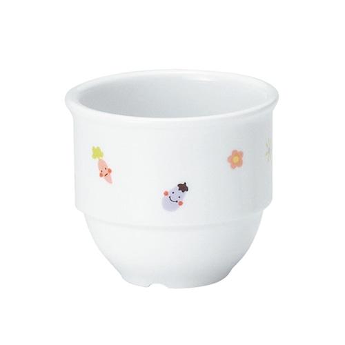 強化磁器 乳児用カップ (φ7cm×H6.1cm/満水130ml) ぷちやさい 【1932-1230】