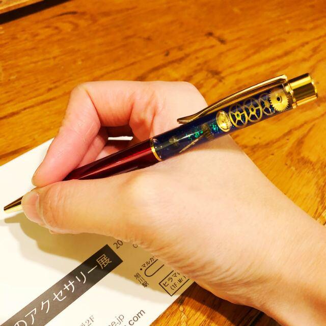 【ギフト人気No.1】手の中で小宇宙を楽しめるボールペン