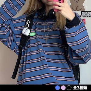 NOIHINGストライプシャツ(全3色) / HWG367
