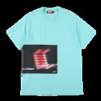 "K'rooklyn × Akimoto Fukuda Collaboration T-Shirts ""DRUGS"" -Light Blue-"