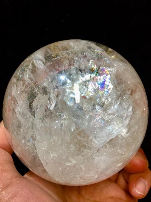1) 採掘初期オリジナル鉱山産・大型レムリアン・シード丸玉