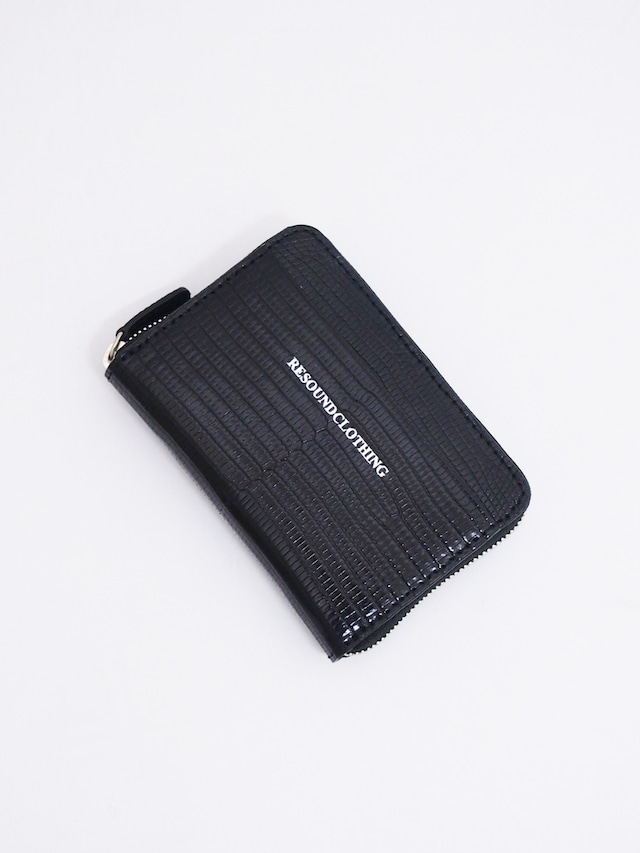 RESOUND CLOTHING (リサウンドクロージング) LIZARD MINI WALLET / BLACK RC14-A-004-1