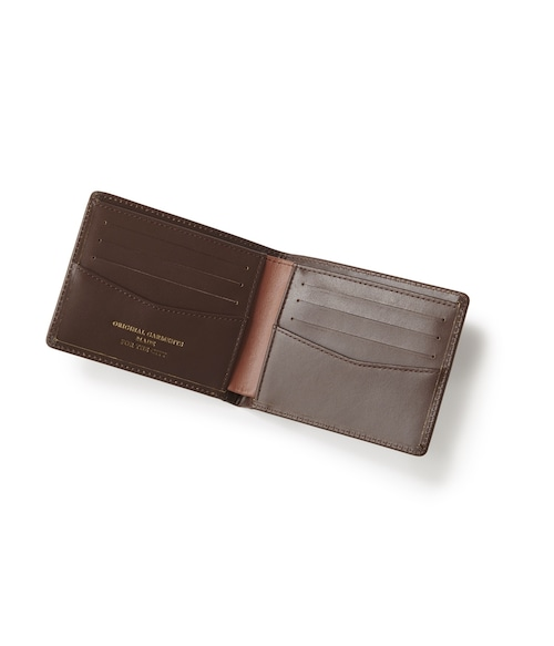 FTC / LUXE LEATHER WALLET -BROWN-