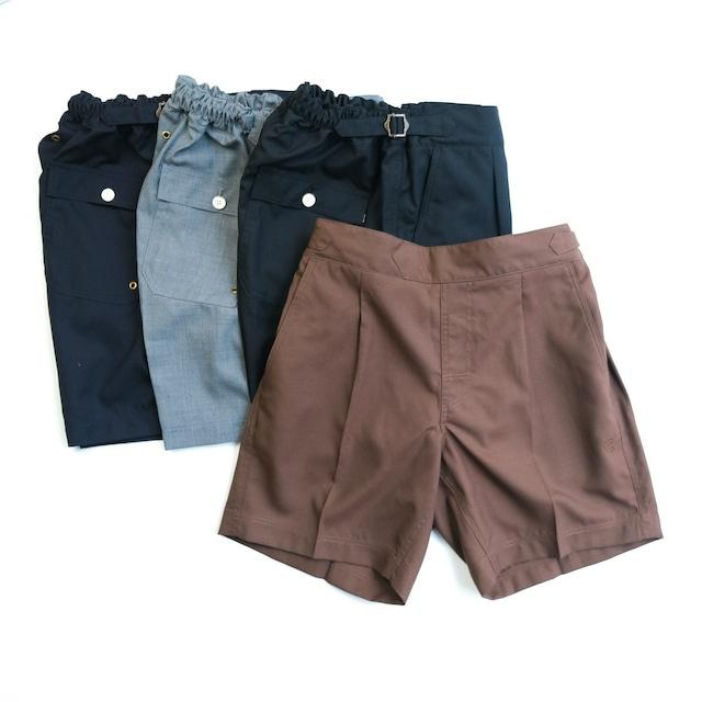 COLONY CLOTHING / TECH-WOOL POOL SIDE SHORTS / CC21-PT11-1