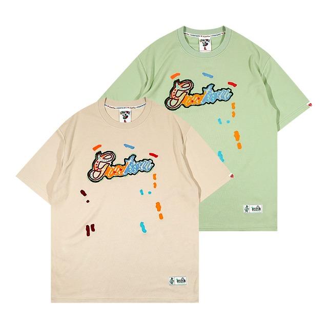 【GRAF】フロントロゴ刺繍Tシャツ
