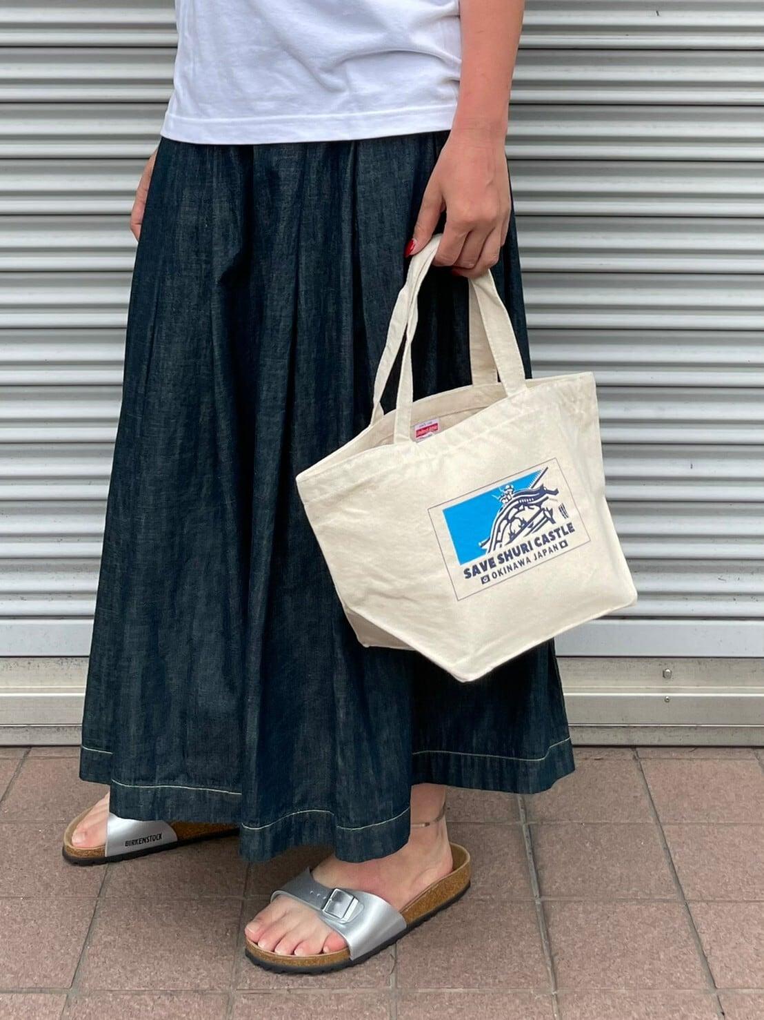 【ONEWASH】首里城トートバッグ