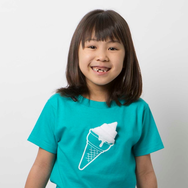 KIDS icecream Tシャツ(ミント)
