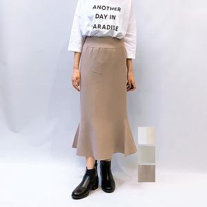 LAGUNAMOON(ラグナムーン) ナローニットスカート 2021秋冬新作 [送料無料]