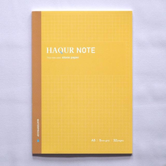【石のノート】ハクアノート イエロー