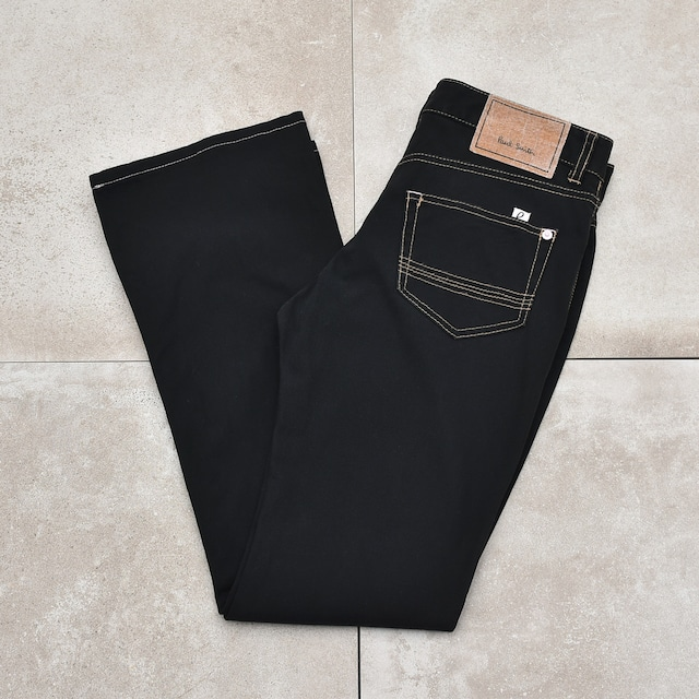 Paul Smith PINK flared black pants