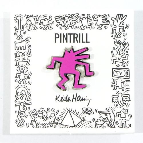 【PINTRILL】Keith Haring - Dancing Dog Pin