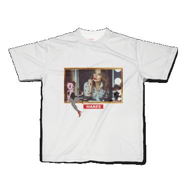 【再入荷】MAKES半袖Tシャツ(make)