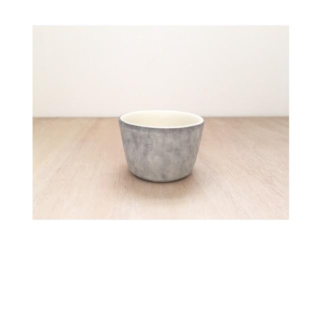 いにま陶房 薄白化粧 猪口カップ