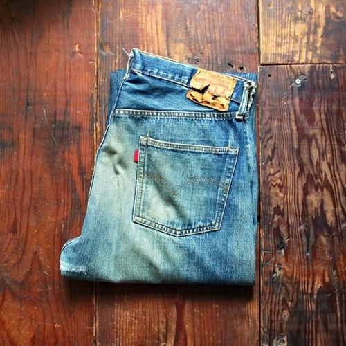 1970s Levi's 501 66 Single Vintage Jeans / リーバイス 66前期 インディゴ デニム