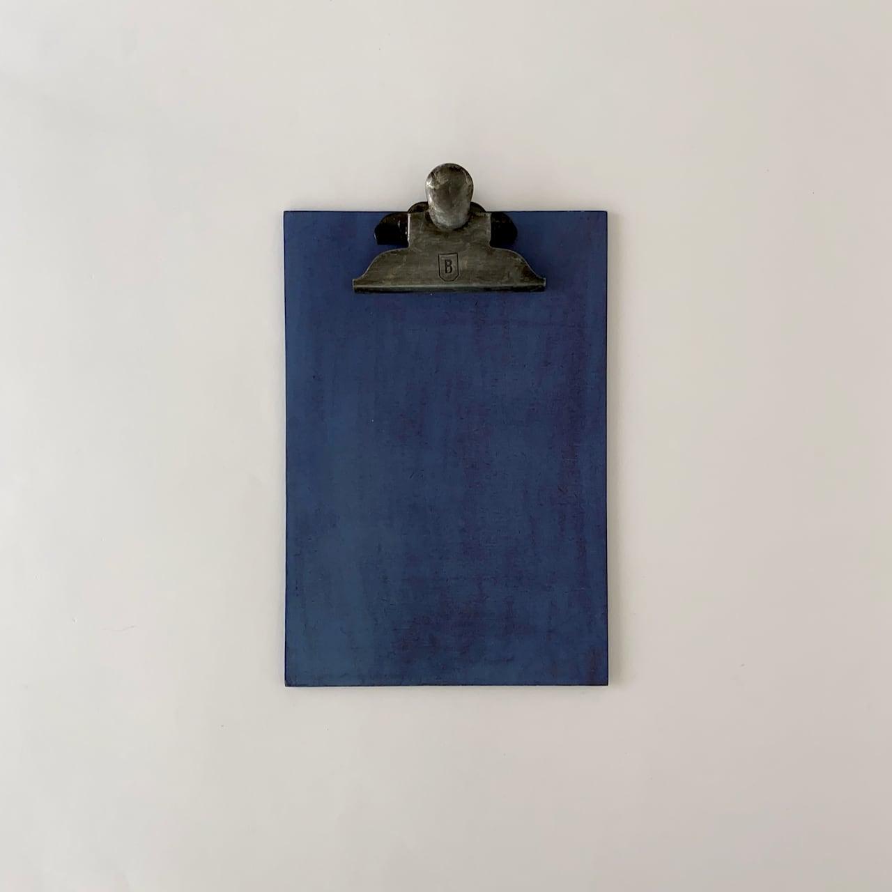 オランダのクリップボード A5(ブルー) Clip Board A5 Blue