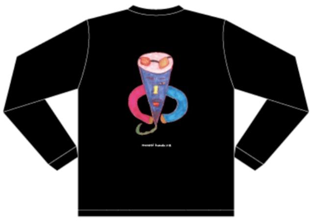 【Masashi Kumada × Q】ロングスリーブTシャツ ブラック