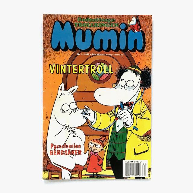 トーヴェ・ヤンソン「Mumin - Nr.1 1999(漫画雑誌ムーミン 1999年1号)」《1999-01》