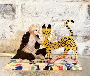〈東京リベンジャーズ〉マイキー&ドラケン猫 アクリルスタンド (スタジオ描き下ろし商品)
