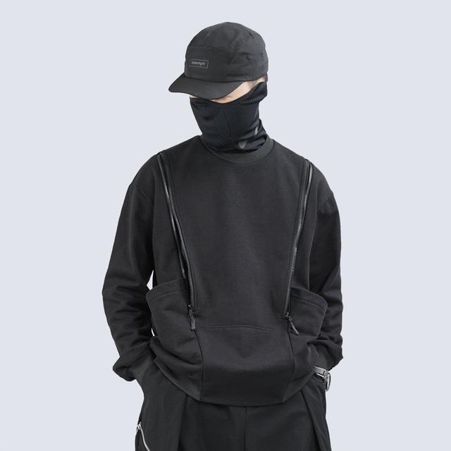 SYMBIOTIC EFFECT 2021SS ロングスリーブクルーネックセーター