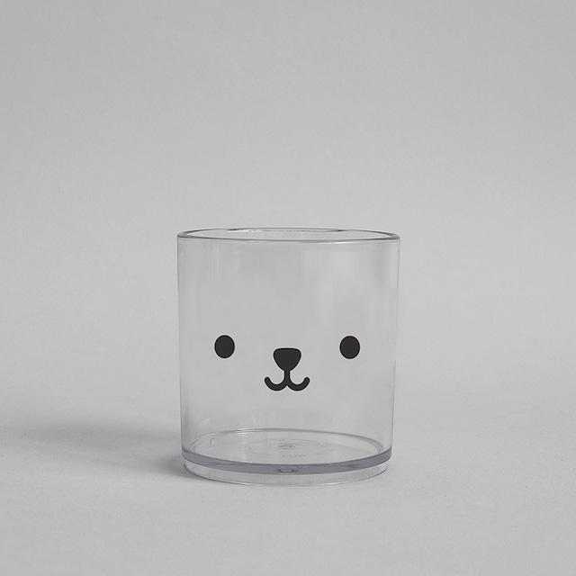 BUDDY+BEAR Bear Tumbler 250ml [clear]