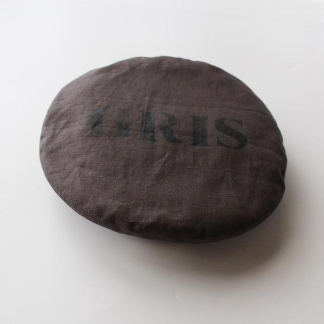 """GRIS 21SS Beret""""GRIS"""" S/Mサイズ (Ash) [DR21SS-AC001B]※メール便可"""
