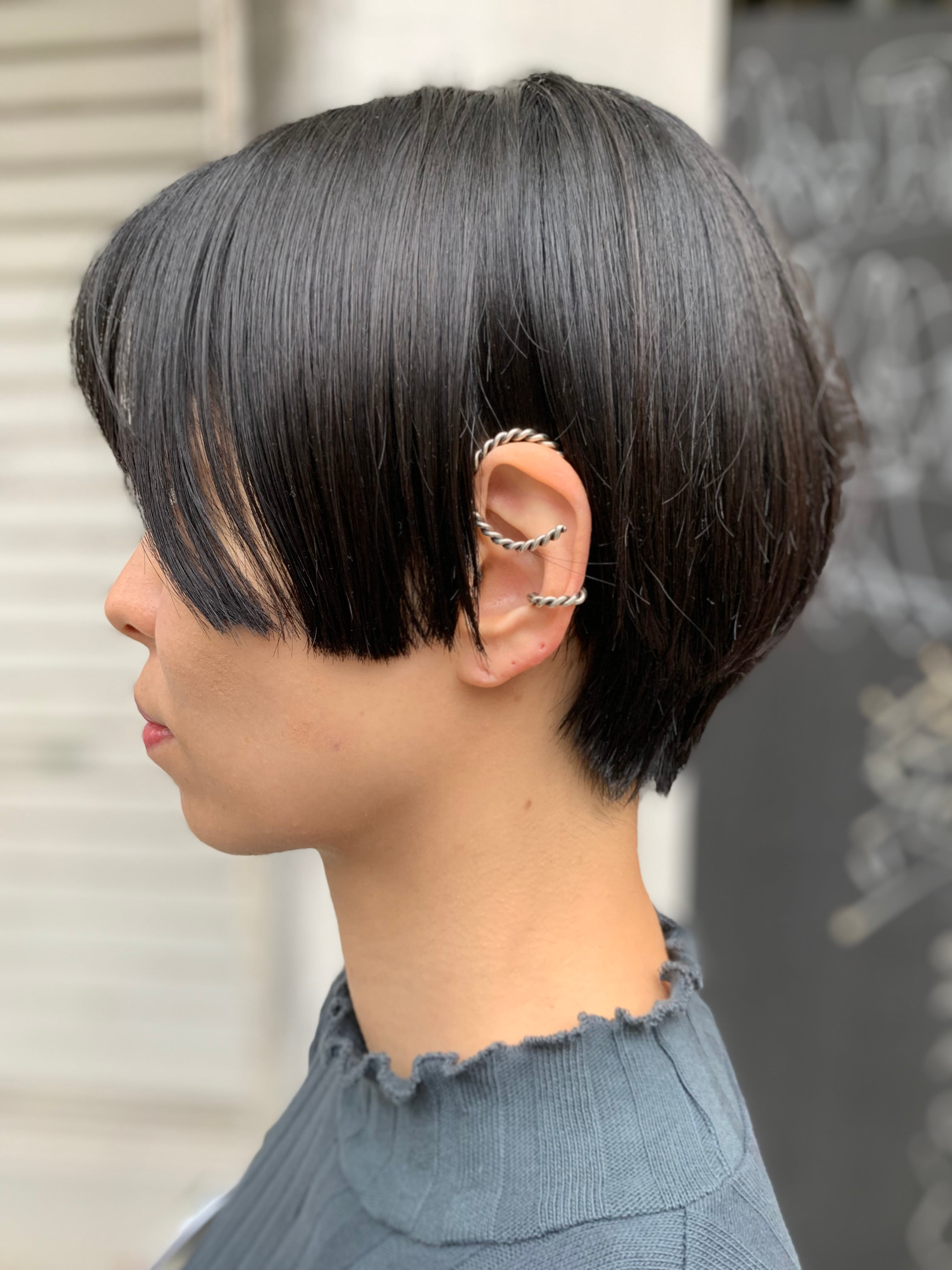 Roping spiral ear caff