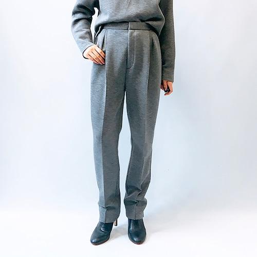 DOUBLE STANDARD CLOTHING(ダブルスタンダードクロージング) ウールライクダンボールパンツ 2021秋冬新作 [送料無料]