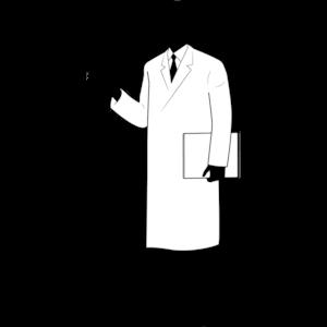 白衣の男性②