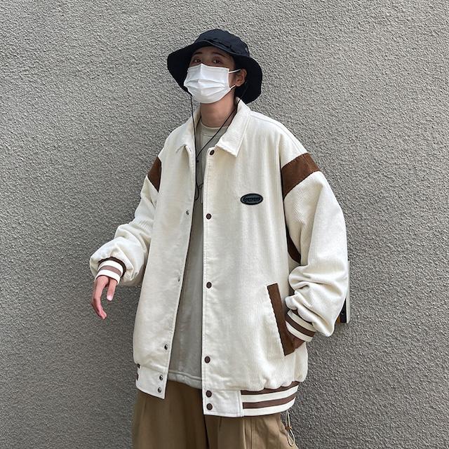 オーバーサイズカジュアルジャケット M-XL