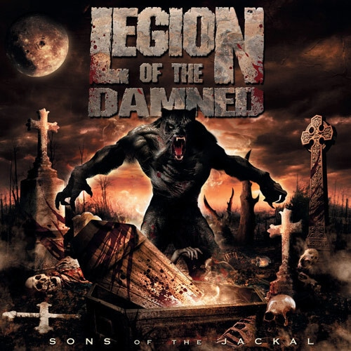 """LEGION OF THE DAMNED """"Sons of The Jackal""""  CD+DVD (輸入盤)"""