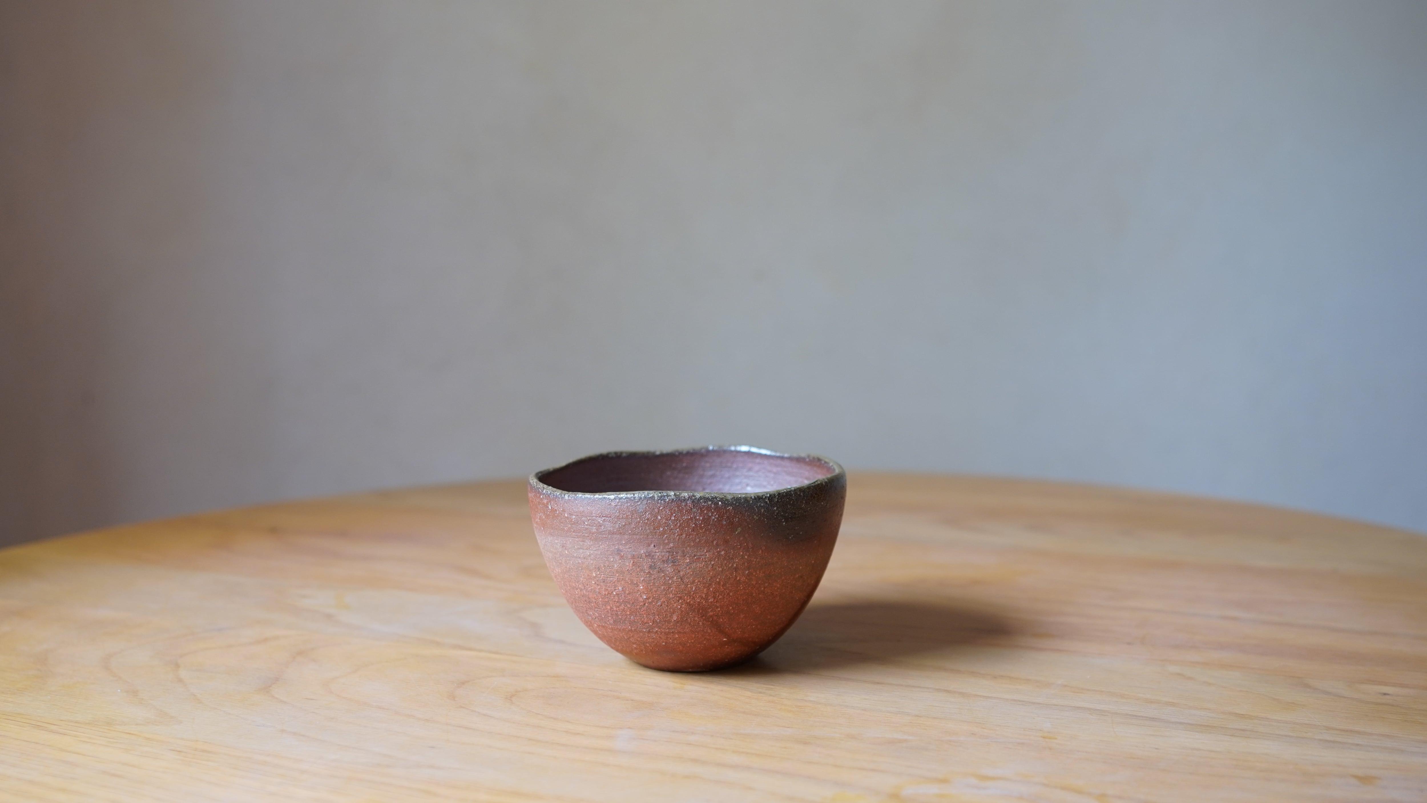 天野智也「備前  カフェオレボウル」(wa-5)