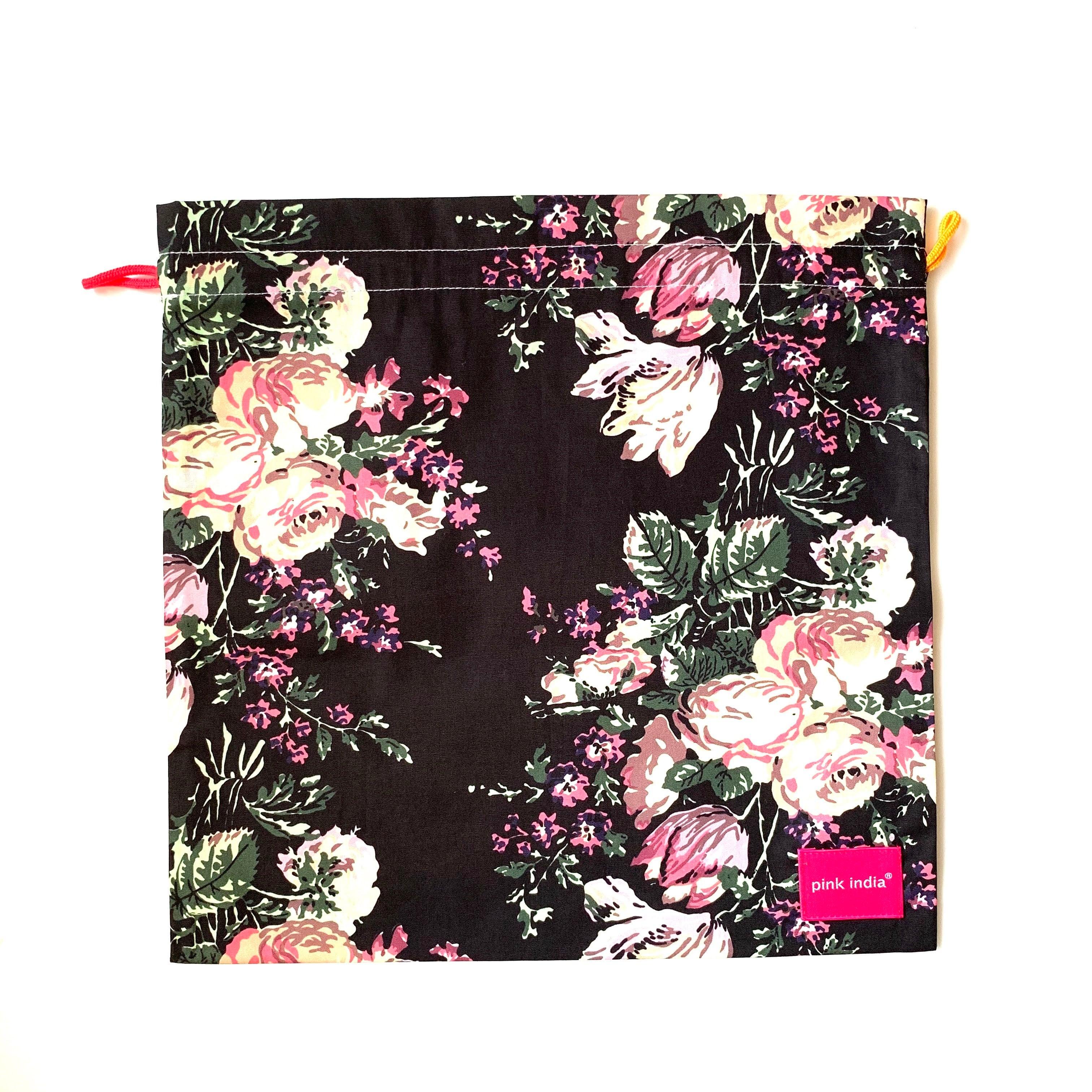 北欧デザイン 巾着   svea flower