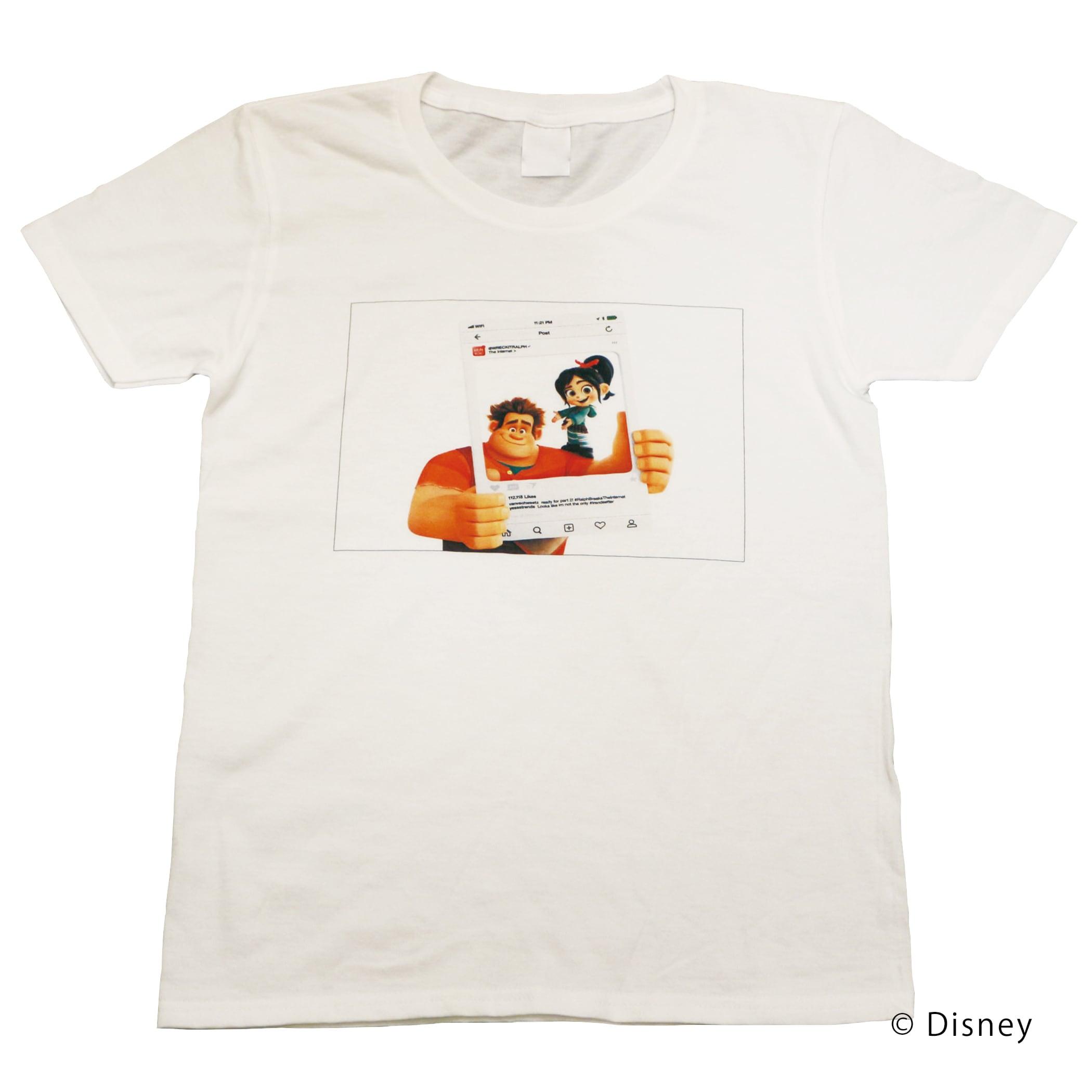 【ディズニー】シュガー・ラッシュ:オンライン|ヴァネロペ & ラルフ② Tシャツ